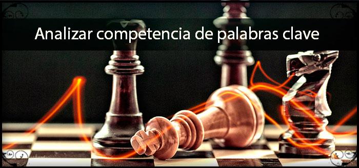 analisis competencia palabras clave
