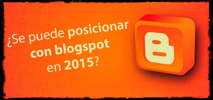 posicionar con blogspot